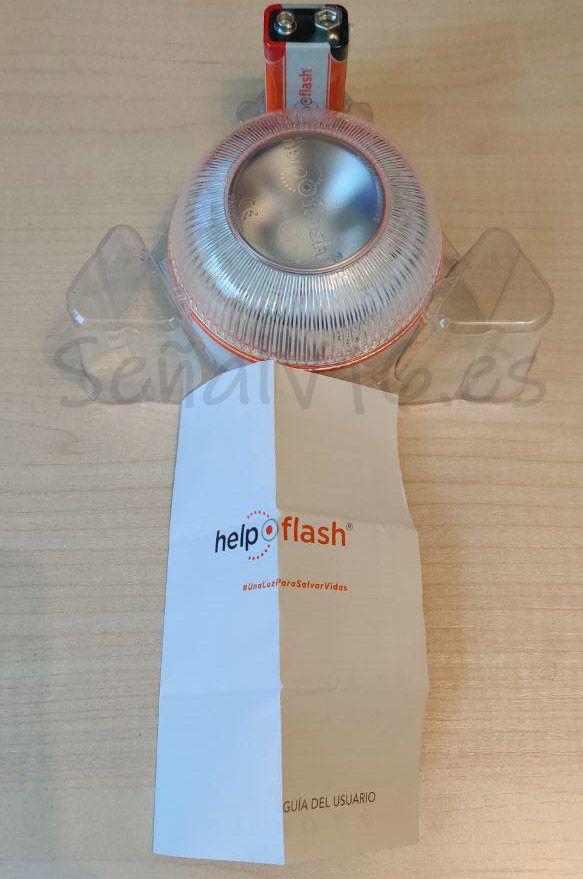 contenido caja help flash