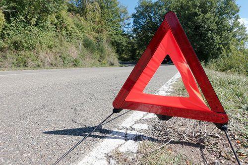 cambiar triángulos del coche